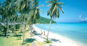 Playa de la isla Phi Phi en Tailandia
