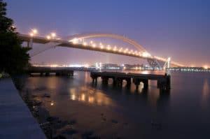Puente en arco mas largo del mundo