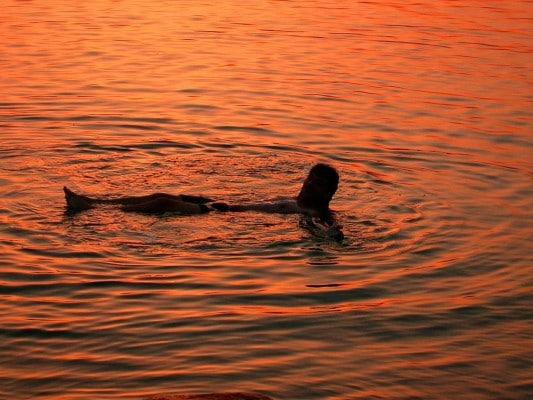 El mar m s salado del mundo mar muerto for Como se llama el hotel que esta debajo del mar