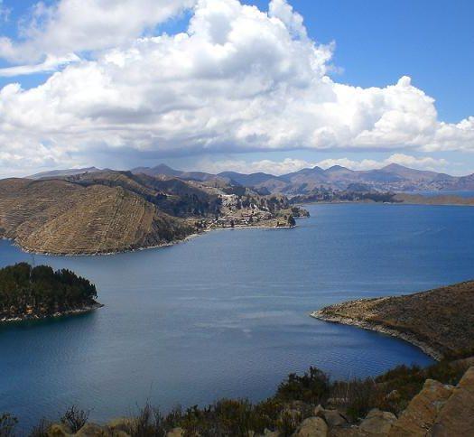 lago navegable mas alto del mundo