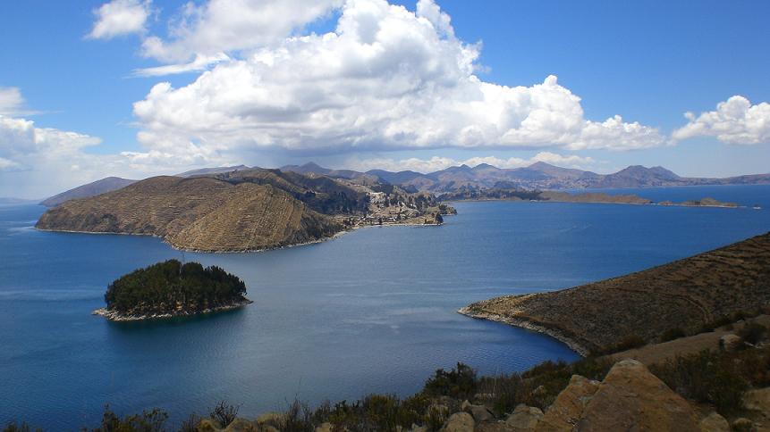 lago navegable más alto del mundo