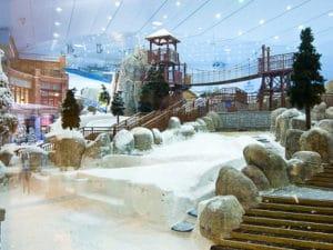 La pista de ski indoor mas grande del mundo