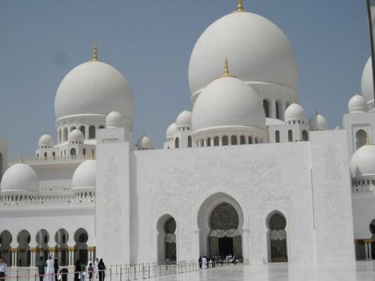 Abu Dabhi - Mezquita Sheik Zayed