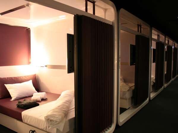 Hotel First Cabin - Durmiendo en la cabina de un avión de 1era clase