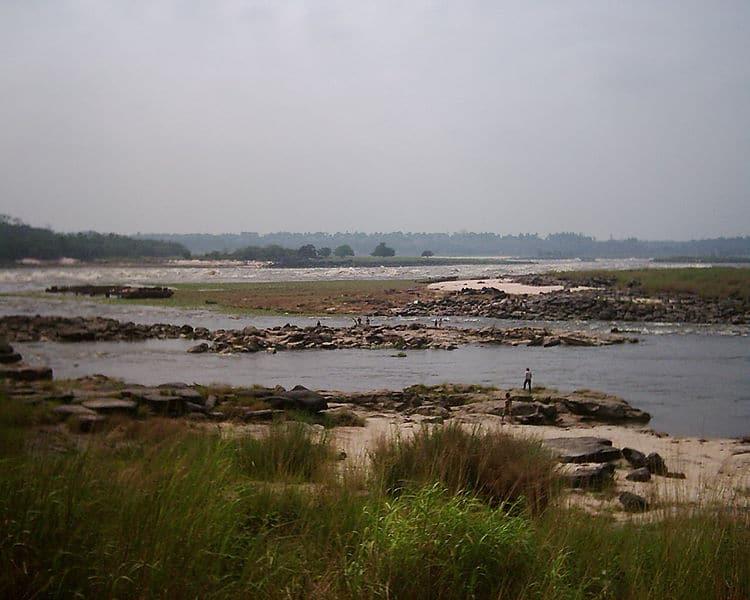 Inicio de las Cataratas Livingstone