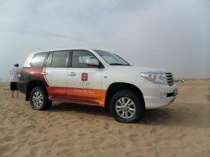 Viajar a Dubai - excursión al desierto