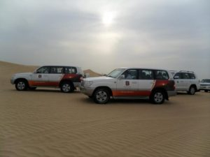 Escursion al desierto en Dubai 4x4