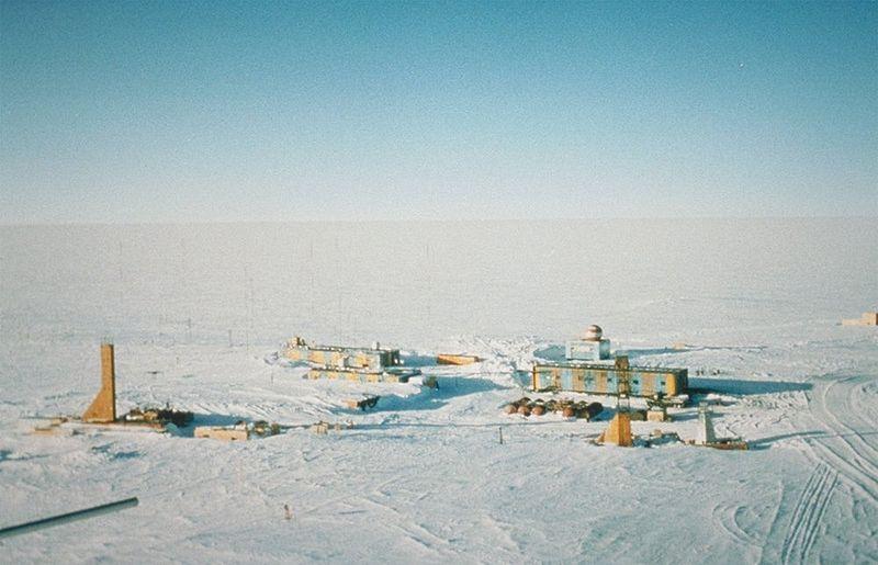 Base Vostok - El lugar más frío de la Tierra