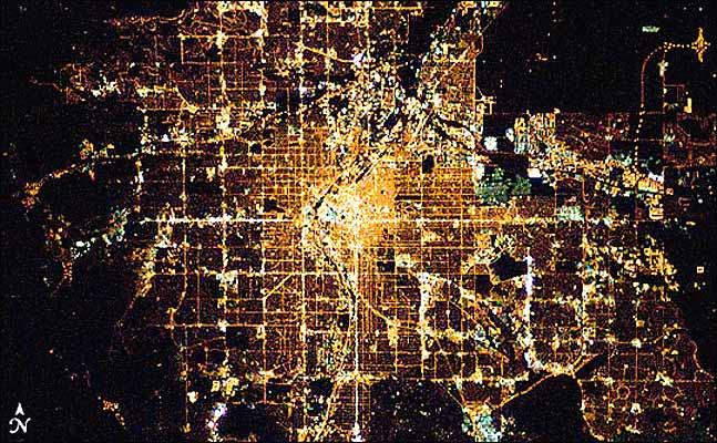 Vista de Londres des del espacio