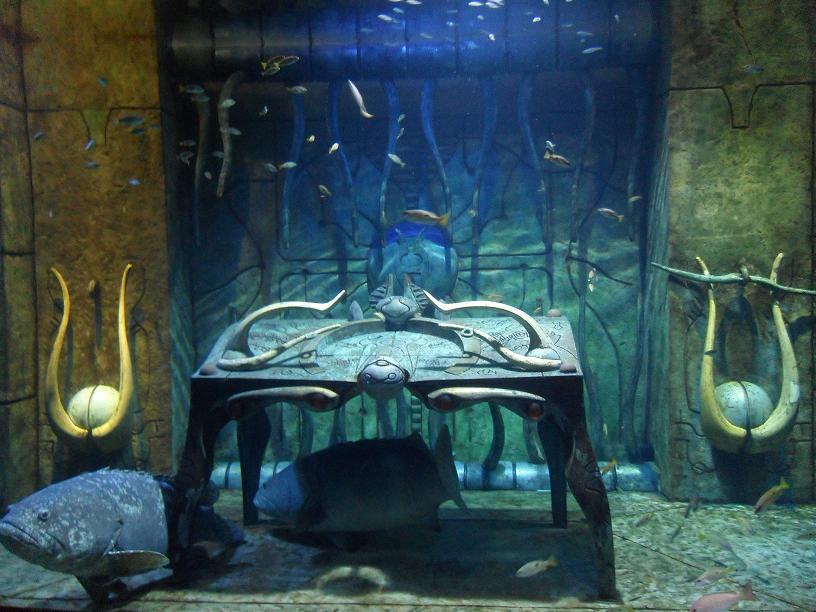 "Acuario ""The Lost Chamber"" - Hotel Atlantis"