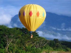 Vuelo en globo en Ecoturismo