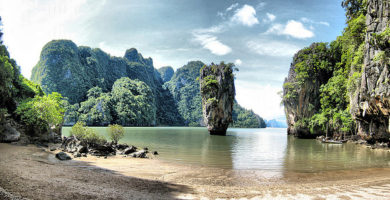Isla Ko Tapu - Tailandia