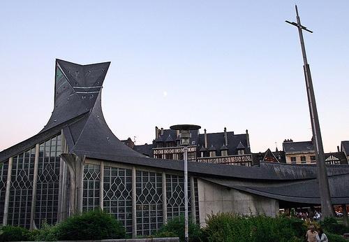 Eglise Sainte-Jeanne d'Arc, place du Vieux-Marché, Rouen
