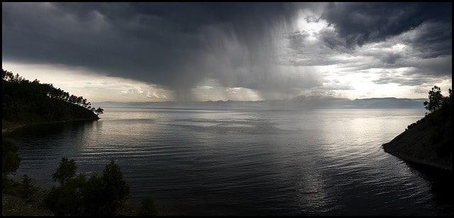 El lago más profundo del mundo