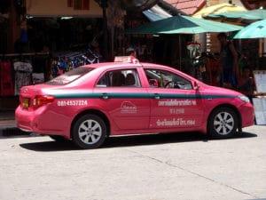 Pink Thai Taxi