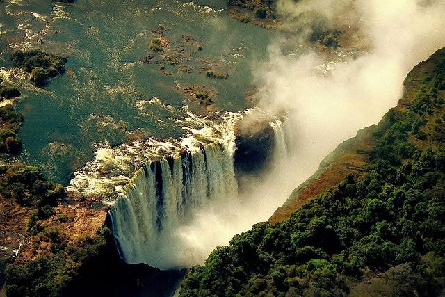 Catarata vitoria - la catarata mas grande del mundo