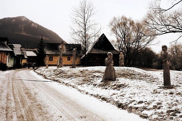 pueblo eslovaco vlkolinec