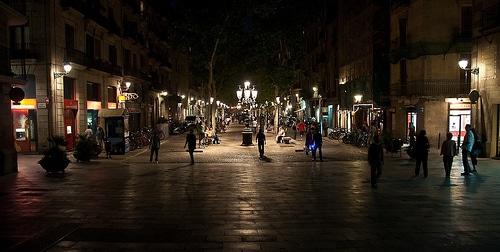 Noche en el Born - Barcelona ( Distrito Ciutat Vella )