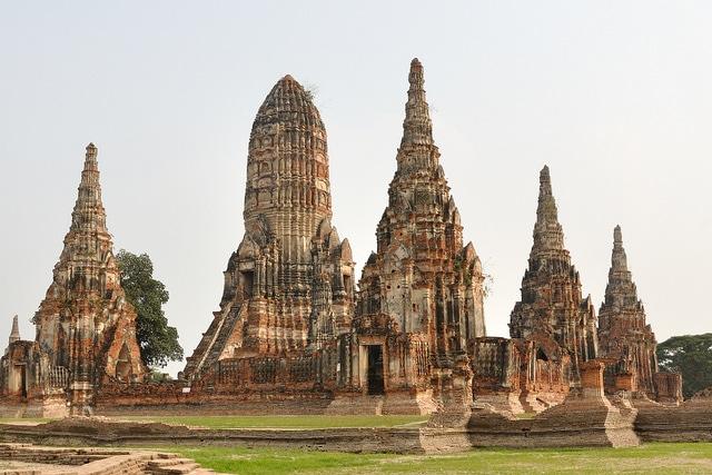 Viajar a Tailandia - visitar Ayutthaya