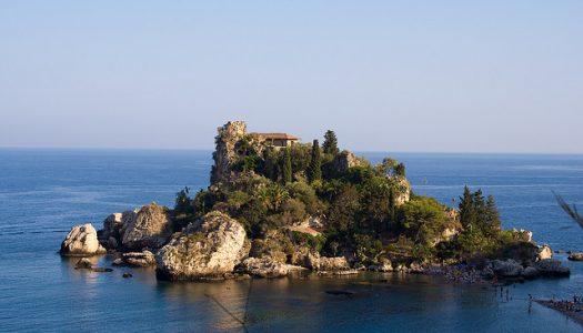 Isola Bella, una pequeña isla Italiana.