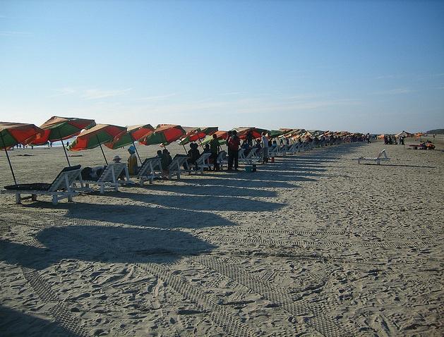 La playa mñas larga del mundo