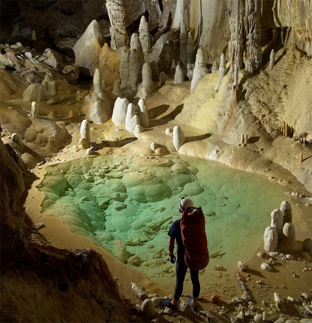 La cueva lechuguilla