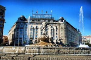El hotel westin palace