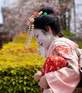 bailar con geisha