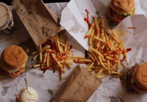 Comer Hamburguesa en NY
