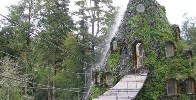 hotel montaña mágica en Chile