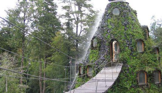 Montaña Mágica Lodge en Chile.