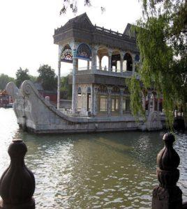 Barco de mármol en China