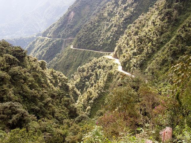 El camino de los Yungas