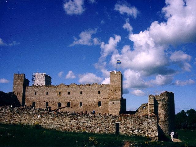 El castillo de Rakvere en Estonia