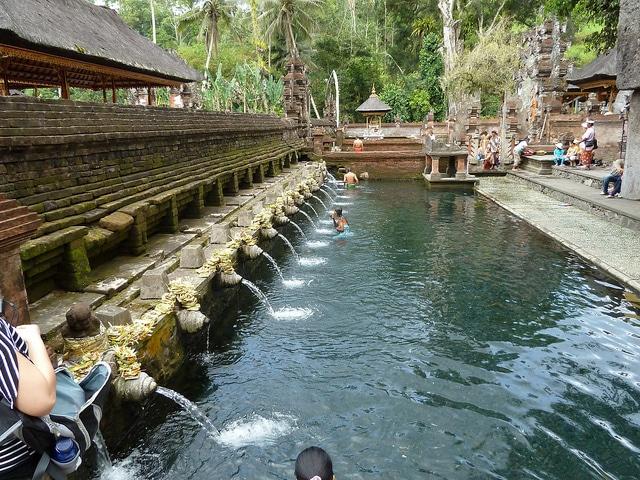 El templo Tirta Empul y la purificación
