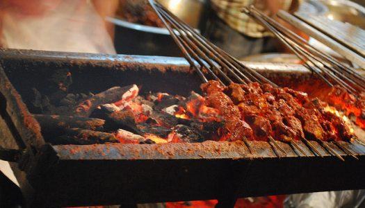 Alimento y cultura en el mercado Chandni Chowk de la India