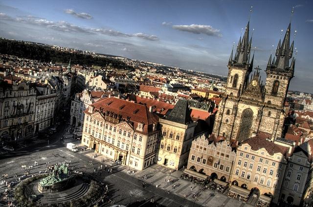 Staroměstské náměstí, la plaza más popular de Praga