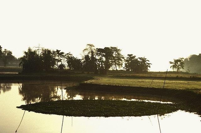 La isla de Majuli