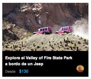 Explora el Valley of Fire State Park en Jeep