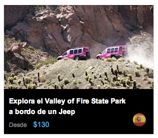 Explora el Valley of Fire State Park en Jeep