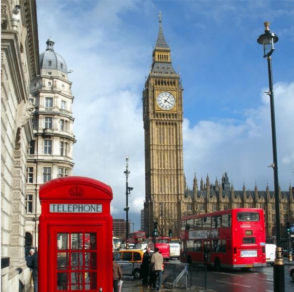 Londres tour bici