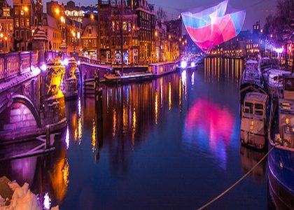 En Diciembre no te pierdas el Amsterdam Light Festival
