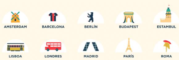 ciudades mejor precio 0