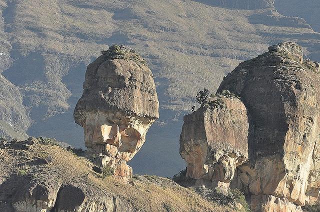 ecoturismo en los montes Drakensberg