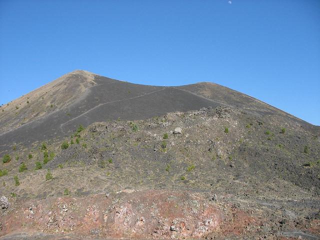 El volcán Paricutín de México