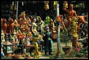 mercadillos de Tailandia