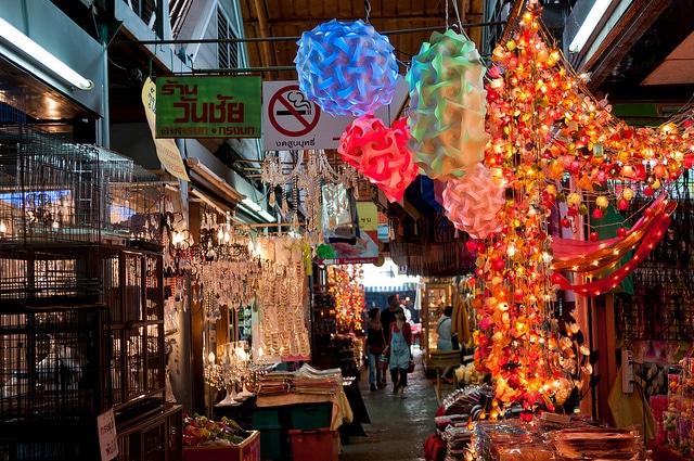 mejores mercadillos de Tailandia