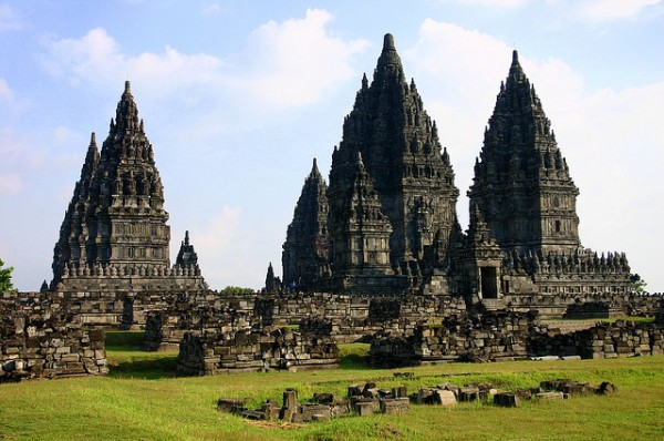 El templo prambanan