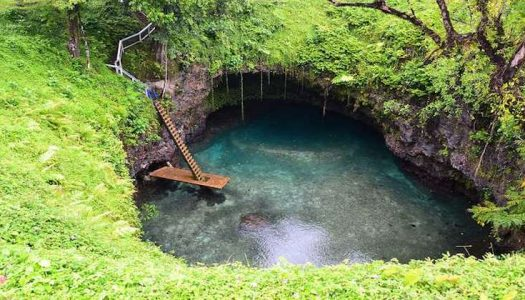 To Sua Ocean Trench, una maravillosa piscina natural