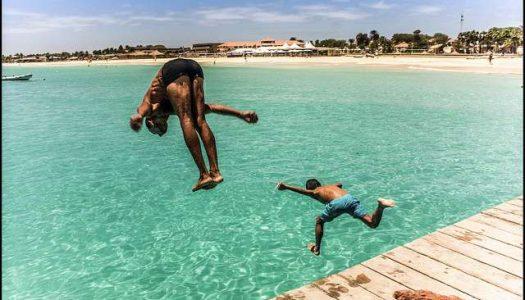 Disfrutando de las playas en Cabo Verde